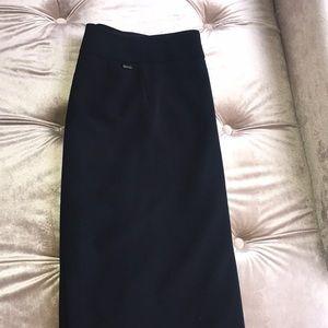 Calvin Klein navy interview skirt